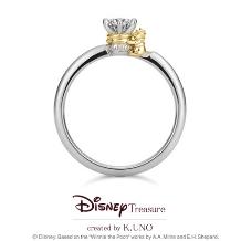 K.UNO BRIDAL(ケイウノ ブライダル):[Disney] くまのプーさん / エンゲージリング