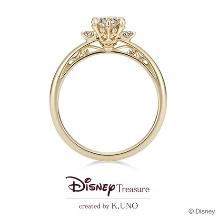 K.UNO BRIDAL(ケイウノ ブライダル):[Disney] 美女と野獣 / エンゲージリング