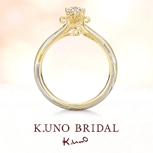 "K.UNO BRIDAL(ケイウノ ブライダル):本誌掲載【MOKUME(木目金)】イタリア語で""新芽、若枝"""