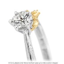 K.UNO BRIDAL(ケイウノ ブライダル):本誌掲載[Disney]くまのプーさん / ベリー メリー フォレスト 婚約指輪
