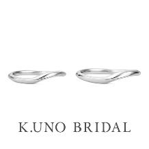 """K.UNO BRIDAL(ケイウノ ブライダル):【ケイウノ】心地よい""""そよ風""""をイメージしたデザイン"""