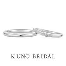 K.UNO BRIDAL(ケイウノ ブライダル)_NEW【ハグ ユー】ハグをしている様子をイメージしてデザインされたマリッジリング