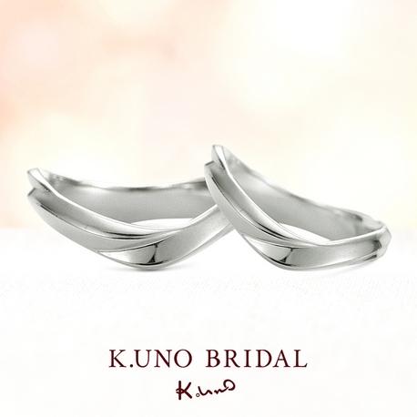K.UNO BRIDAL(ケイウノ ブライダル):【ケイウノ】360度、見る角度によってデザインが異なる