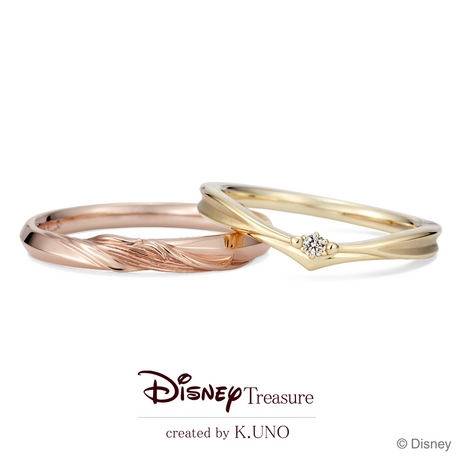 K.UNO BRIDAL(ケイウノ ブライダル):[Disney] 美女と野獣 / マリッジリング