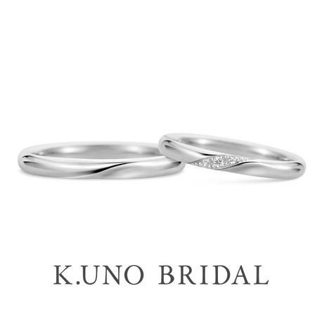 K.UNO BRIDAL(ケイウノ ブライダル):【リサータ】えくぼが浮かぶようなデザインに、笑顔のたえない日々を願って~