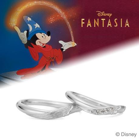 "K.UNO BRIDAL(ケイウノ ブライダル):[Walt Disney] ""Fantasia"" / マリッジリング"
