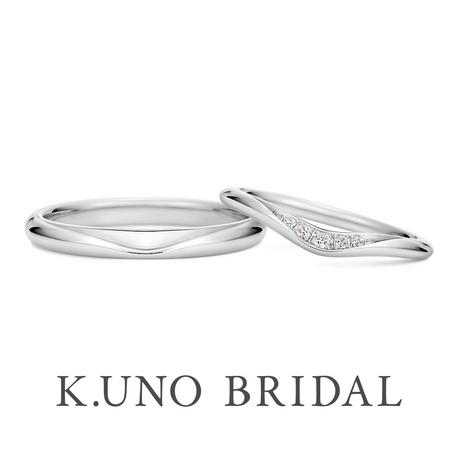 K.UNO BRIDAL(ケイウノ ブライダル):【ケイウノ】海の雫を、ふたりの純粋な愛情と重ね合わせて…。