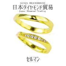 日本ダイヤモンド貿易_セルマン 華やかに彩るメレダイヤが印象的なリング