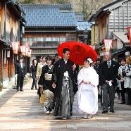 KKRホテル金沢:【和婚派必見】4つの神社+茶婚式見学×和装体験×豪華ランチ付