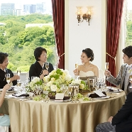 KKRホテル東京:【6名から少人数W】ご家族に感謝をこめて挙式&会食【試食付】