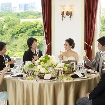 KKRホテル東京:【挙式+親族食事会】20名79万円★感謝のおもてなし★無料試食付