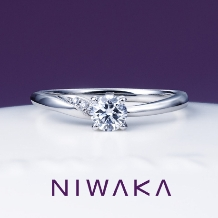yamatoya(ヤマトヤ):俄『 木洩日 KOMOREBI 』 婚約指輪 ~やわらかな光 水とたわむれ~