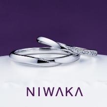 yamatoya(ヤマトヤ)_俄 「せせらぎ」(せせらぎ)結婚指輪 ~水面のささやき 美しき音色~