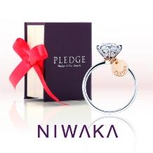 yamatoya(ヤマトヤ):俄 プロポーズを応援するスペシャルリング「PLEDGE for WEDDING」