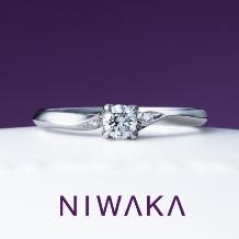 yamatoya(ヤマトヤ)_俄『 ことのは KOTONOHA 』婚約指輪 ~今日という日に 綴る想い~