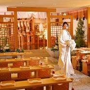 新横浜グレイスホテル/ロゼアン シャルム:【神前式×豪華試食】ご友人も参加出来る神殿見学×和婚のイロハ