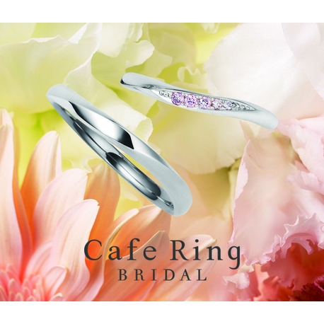 Ishigami Bridal/イシガミブライダル:希少なピンクダイヤモンドのグラデーションが美しい ローブドゥマリエ