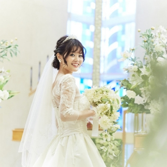 ホテル大阪ガーデンパレス:【平日限定!】チャペル体験&ドレス試着!花嫁なりきりフェア