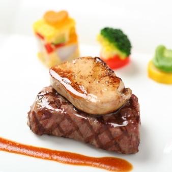 人気増枠◎【和・フレンチ食べ比べ】国産牛&フォアグラ無料試食