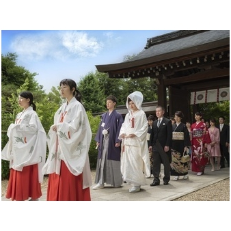 【御所前和婚が人気】組数限定◆京都の歴史ある神社で本格挙式