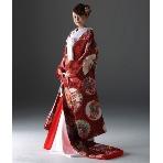 和装、白無垢、色打掛、黒引:KYOKANE WEDDING(キョウカネ ウエディング)