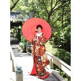 京鐘:◆お庭にも映える!◆大人色の赤地打掛