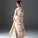 和装、白無垢、色打掛、黒引:KYOKANE Wedding Kyoto (旧 京鐘ブライダル館)