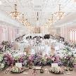 ホテルモントレエーデルホフ札幌:【一生に一度だから】階段×プリンセス×眺望を叶える結婚式を