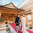 ホテルモントレ ラ・スール大阪:【4万円和洋折衷コース試食】和装×本格神前式♪伝統の挙式体験