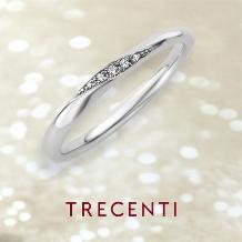 TRECENTI(トレセンテ):【シンチェーロ】華奢なラインで魅せるさり気なく上品な美しさ
