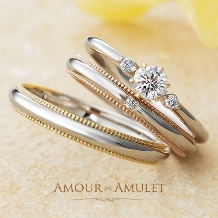 JEWEL SEVEN BRIDAL:【JEWEL7】 AMOUR AMULET 「FLEUR」