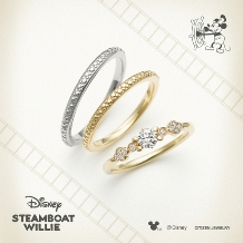JEWEL SEVEN BRIDAL:【JEWEL7】Disney STEAMBOAT WILLIE
