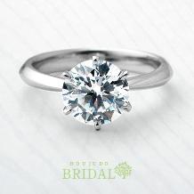 宝寿堂:【宝寿堂】1.5ctダイヤモンドの圧倒的な存在感にうっとり《HE2282》