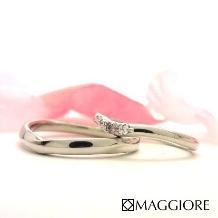 MAGGIORE アートダイヤモンド(マジョーレ):【マジョーレ】大粒ダイヤとピンクダイヤの豪華なデザイン『ルチアーナ』