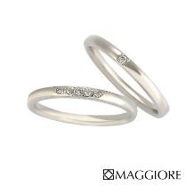 MAGGIORE アートダイヤモンド(マジョーレ):【マジョーレ】シンプルで着け心地抜群!当店人気のマリッジリング