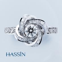 HASSIN BRIDAL(宝石の八神)_【BOUCHERON(ブシュロン)】 ピヴォワンヌ