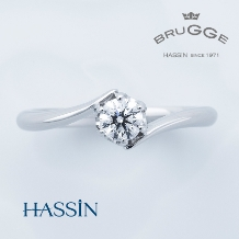 HASSIN BRIDAL(宝石の八神)_【HASSIN】 BRUGGE(ブルージュ)  プロメス