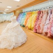ホテルグランドヒル市ヶ谷:ドレスサイズバリエーション充実!3号~27号までドレス試着会