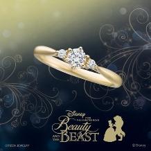 トミタ_【待望の新作】Disney 美女と野獣ブライダルコレクション
