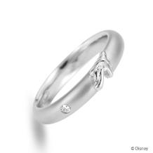 BROOCH:ケイウノ ディズニー Mickey&Minnie  ミッキー&ミニー 結婚指輪