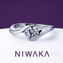BROOCH_俄 「麗」(れい)婚約指輪 ~心晴れやかに 風のどかなり~