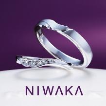 BROOCH:俄 「唐花」(からはな)結婚指輪 ~その美しい花は 運命の証~
