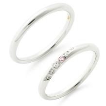 Sakai & Rose Vie(サカイ アンド ローズ ヴィ)_『お守りリング』Pink Dolphin Diamond