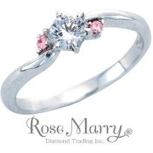 Sakai & Rose Vie(サカイ アンド ローズ ヴィ):【THE KISS×Rose Marry】限定コラボリング(ピンクダイヤ入り)