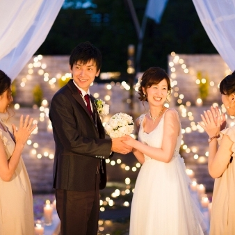 THE AIR BALE CLUB(アイル バレ クラブ):【秋の小さな結婚式☆】専用プラン&上質と気軽さが叶う等身大W
