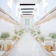 RIVAGE TERRASSE BLANC ANGE (リヴァージュテラス ブランアンジュ):【リゾート×大聖堂×大階段】憧れを叶えるスペシャルフェア