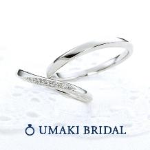 EYE JEWELRY UMAKI(アイジュエリー ウマキ)_【シャイニー】花嫁の支持率NO1、輝きのリング!