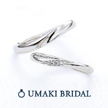 EYE JEWELRY UMAKI(アイジュエリー ウマキ)_【SNOW1】ダイヤの上品さも楽しめるデザイン!