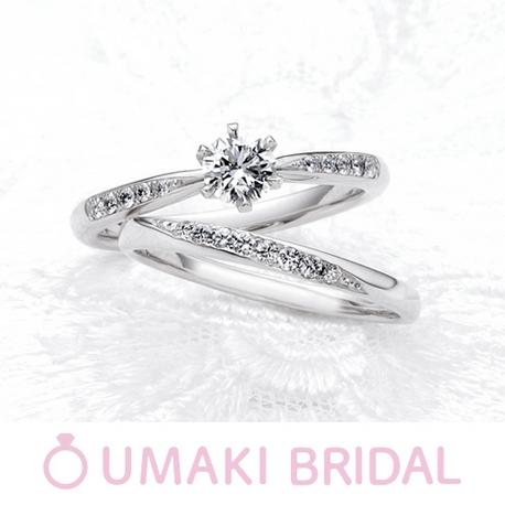 EYE JEWELRY UMAKI(アイジュエリー ウマキ):【ホワイトローズ】贅沢にあしらわれたダイヤでロマンチックに