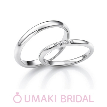 EYE JEWELRY UMAKI(アイジュエリー ウマキ):【カラー】ふたつとない新しい二人の人生を共に歩む